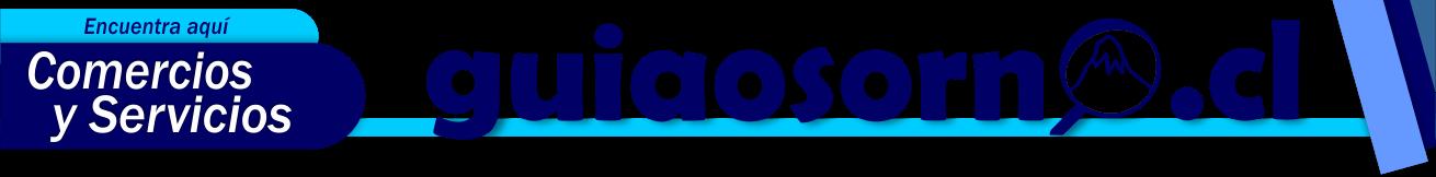 Guía Osorno, Comercios y Servicios